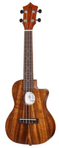 Hawaii Koa Concert Cut with Pickup